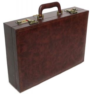 Мужской дипломат-кейс из эко кожи 4U Cavaldi коричневый A2101MA 《Sumka》 — Папай | 231118-12042 • ss-A2101MA Brown •