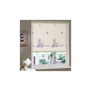 Штора в детскую комнату Frozen 150x200 《TAC》 — Папай | 50719-20308 • sv-15154 •