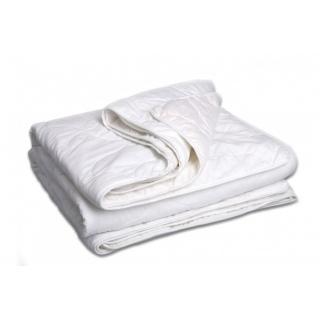 Одеяло на кнопках хлопок + шерсть (Четыре сезона, Зима-лето) Double Dream 110x140