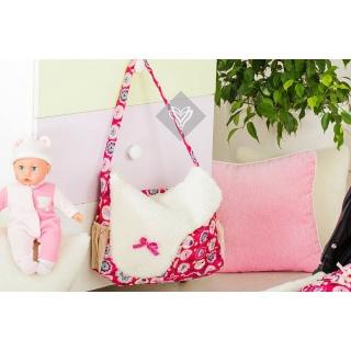 Сумка для коляски (сумка для мамы) розовый 38x30/16x20 《IDEIA (ИДЕЯ)》 — Папай | 151218-13472 • ideia0600000597 • 2200003868746