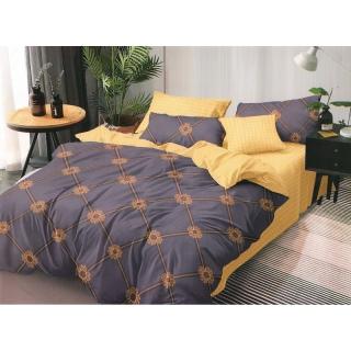 Комплект постельного белья Сатин люкс 333 Евростандарт 《Marcel》 — Папай | 100621-42400 • marcelCB0005661 •