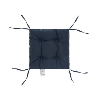 Подушка на стул DOTINEM COLOR (КОЛОР) мокрый асфальт 40x40 (борт 5 см) 《DOTINEM》 — Папай | 40420-30959 • dotinem213109-9 •