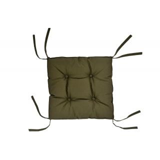Подушка на стул DOTINEM COLOR (КОЛОР) хаки 40x40 (борт 5 см) 《DOTINEM》 — Папай   40420-30955 • dotinem213109-5 •
