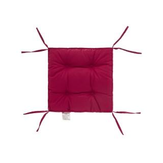 Подушка на стул DOTINEM COLOR (КОЛОР) лиловый 40x40 (борт 5 см) 《DOTINEM》 — Папай | 40420-30958 • dotinem213109-8 •