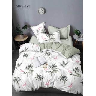 Комплект постельного белья Сатин люкс 320 Евростандарт 《Marcel》 — Папай | 90720-32211 • marcelCB0004950 •