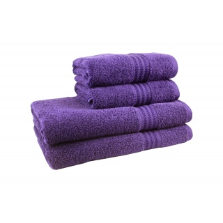 Полотенце RAINBOW Mor 50х90 фиолетовый 500 г/м2 《HOBBY》 — Папай | 091117-6329 • 302518 • 8698499302518