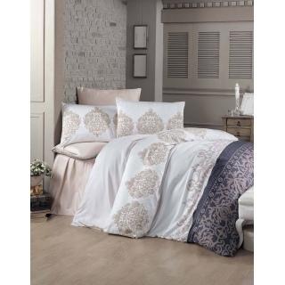 Комплект постельного белья Sateen ASRIN 200x220/2*50x70x70*70 Евростандарт