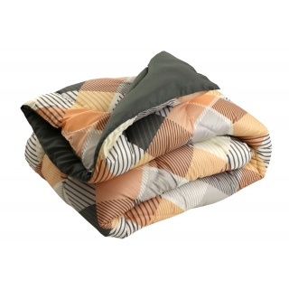 Одеяло силиконовое зимнее 350 г/м2 322.53 Ромбы плюс 200x220 《РУНО》 — Папай | 180920-35123 • 322.53Ромбы плюс •