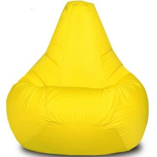 Кресло-мешок Груша детская желтая