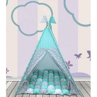 Вигвам Королевский мята Шалаш Игровой домик Детская палатка