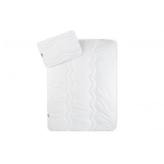 Детский набор: Одеяло 100x135 и подушка 40x60 белый в кроватку 《IDEIA (ИДЕЯ)》 — Папай | 151218-13489 • ideia8000029611 • 4820182656910