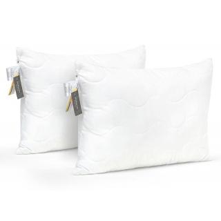 Набор антиалергенных подушек Memory effekt №1627 Eco Light White (средние) 2 шт. 50x70