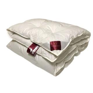 Одеяло пуховое кассетное Luxury Sleep 100% пух 110x140 белый