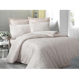 Комплект постельного белья Sateen CREAM 200x220/2x50x70/2x70x70