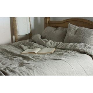 Комплект постельного белья (лён) серый Детский 《Lintex》 — Папай | 300718-9474 • Lintex-ппл-110 •