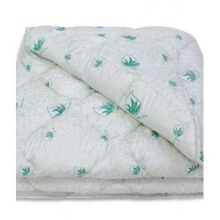 Одеяло силиконовое Алое Вера/Aloe Vera (microfiber) 150x210