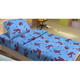 Комплект постельного белья для подростков - SPIDERMAN ACTIVE 《Lotus》 — Папай | 220915-1257 • 3355 •