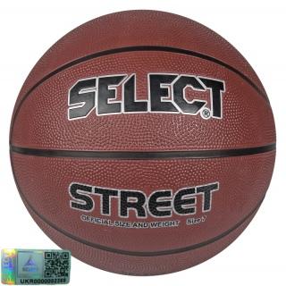 Баскетбольний м'яч Basket Street (Розмір 7) 《Select》 — Папай | 220915-1485 • 205770-936 • 5703543078936