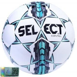 Футбольний м'яч Contra (Розмір 4) 《Select》 — Папай | 220915-1427 • 085512-406 • 5703543089406