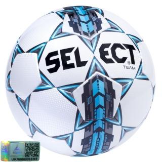 Футбольний м'яч Team (Розмір 5) 《Select》 — Папай | 220915-1433 • 086552-550 • 5703543089550