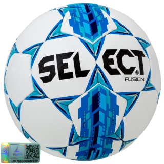 Футбольний м'яч Fusion IMS APPROVED white-blue №5 《Select》 — Папай | 4243-1508 • 085500-277 • 5703543162277