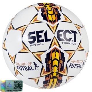 Футзальний м'яч Futsal Tornado (Розмір 4) 《Select》 — Папай | 220915-1596 • 104000-737 • 5703543145737