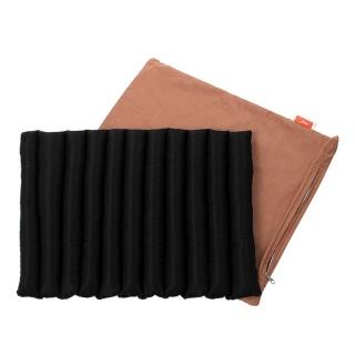 Подушка-сидушка с гречневой шелухой Homefort Универсальная Гладко крашеная 40x50