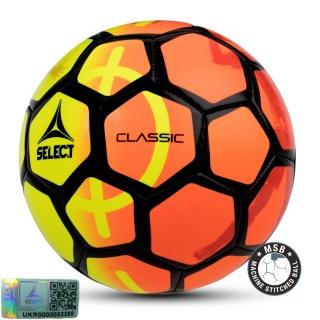 Футбольный мяч Classic NEW желтый-оранжевый (Размер 5) 《Select》 — Папай | 9539-1745 • 099581-697 • 5703543175697