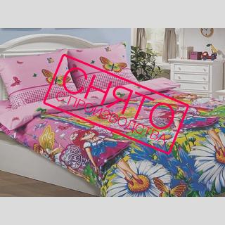 Комплект постельного белья Маленькие феи поплин 《Kidsdreams》 — Папай   220915-1006 • 2480 •