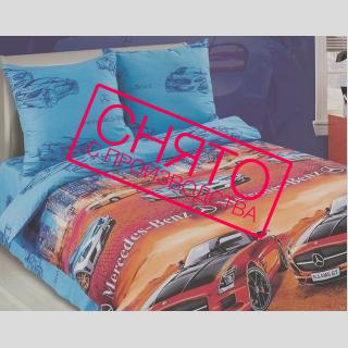 Комплект постельного белья Фаворит поплин 《Kidsdreams》 — Папай | 220915-1175 • 2616 •