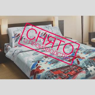 Комплект постельного белья Британия 《Top Dreams》 — Папай   220915-1001 • 2195 •