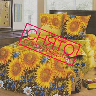 Комплект постельного белья Подсолнухи 《Top Dreams》 — Папай | 220915-1055 • 2324 •