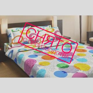 Комплект постельного белья Цветочное конфети 《Top Dreams》 — Папай | 220915-1165 • 2200 •