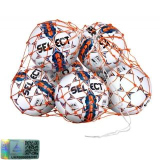 Сетка для мячей Ball Net на 6-8 мячей (7370808000) 《Select》 — Папай | 220915-1726 • •