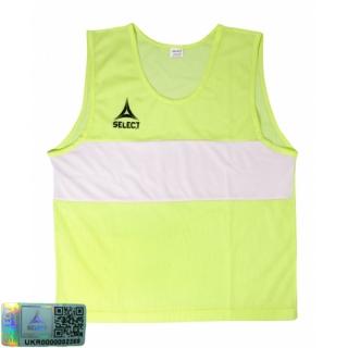Манишка-накидка тренировочная Bibs Standard mini желтый 《Select》 — Папай | 220915-1829 • 683300-061 • 5703543680061